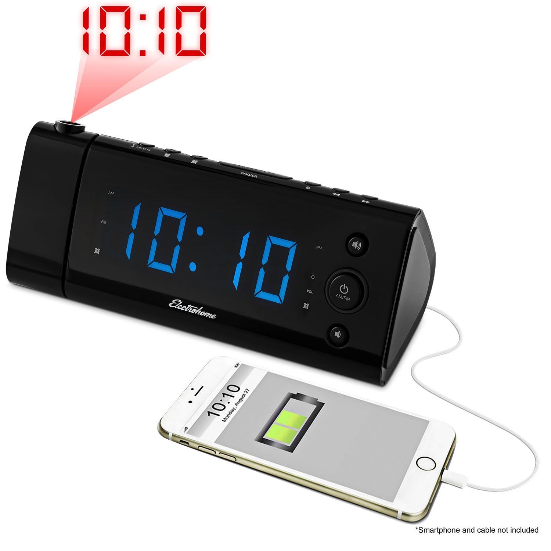 Projection Alarm Clock Radio