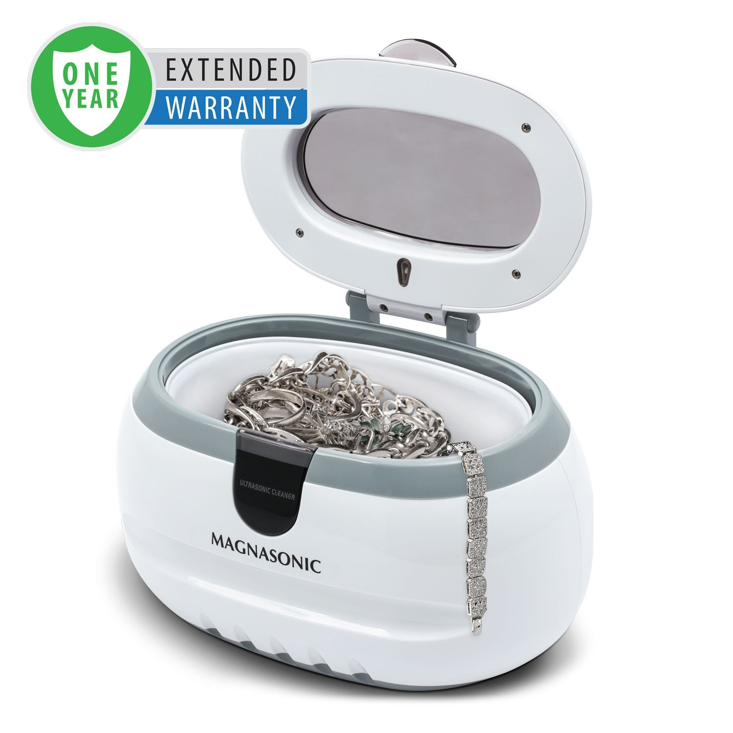 1 Year Warranty for the Professional Ultrasonic Jewelry & Eyeglass Cleaner
