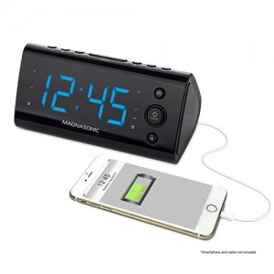 USB Charging Alarm Clock Radio - Alternate 3