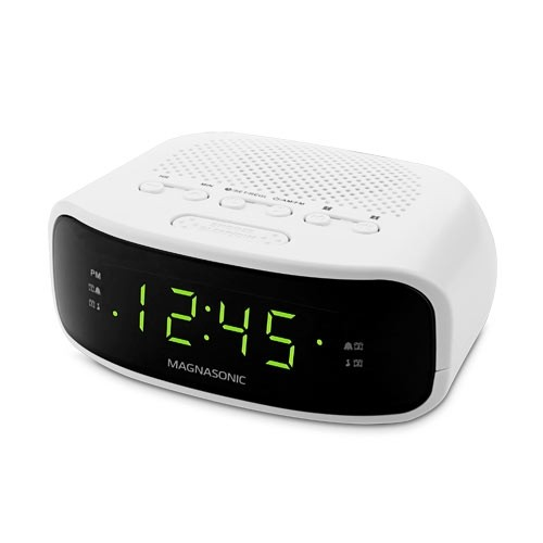 Magnasonic Digital AM/FM Clock Radio EAAC201