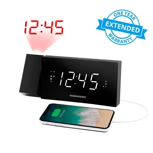 1 Year Warranty for Alarm Clock Radio with USB Charging - 1