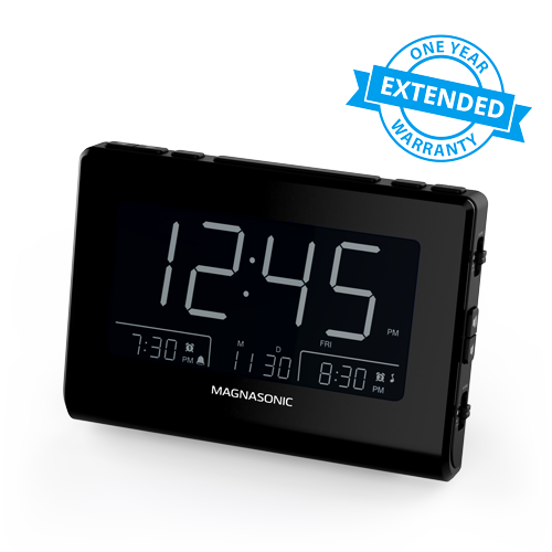 1 Year Warranty for the Alarm Clock Radio With USB Charging - Alternate