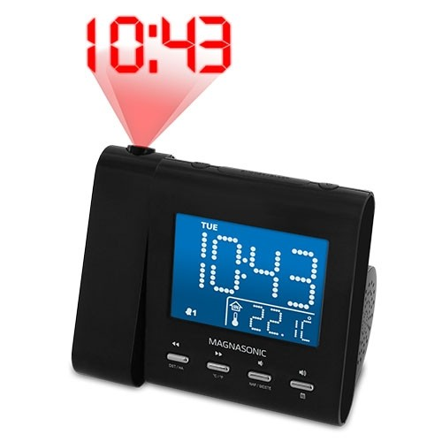 Projection Alarm Clock Radio - Alternate 3