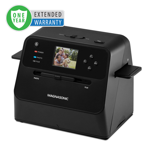1 Year Warranty for the All-In-One 14MP Film & Photo Scanner - Alternate