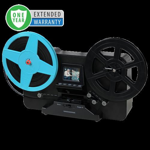 1 Year Warranty for the Super 8/8mm Film Scanner - Alternate