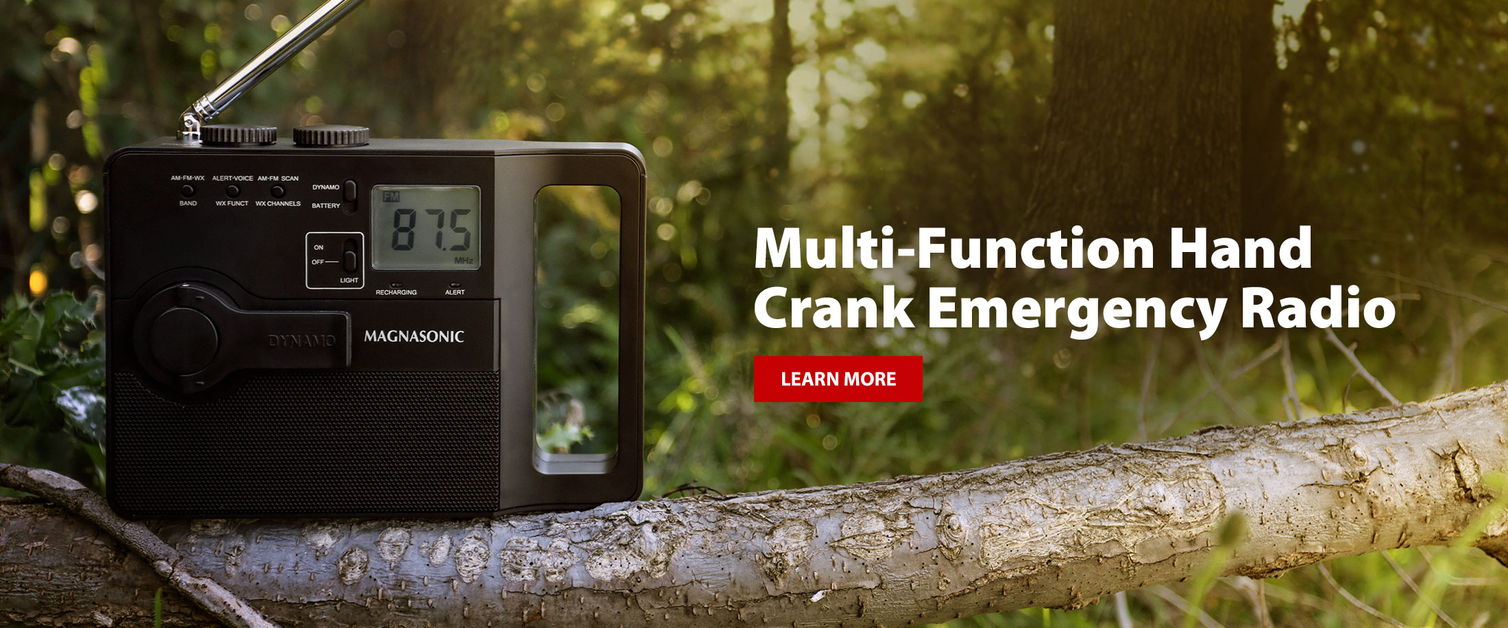 Multi-Function HandCrank Emergency Radio (ER51)